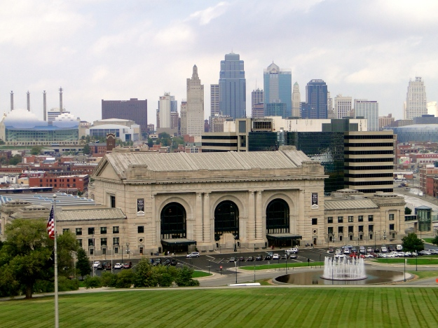 Kansas City Skyline from the WW1 Monument