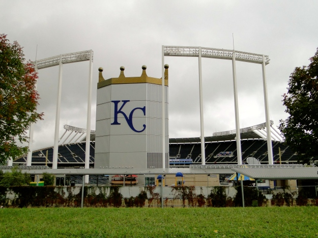 "The ""K"" Kauffman Field, home of the Royals"