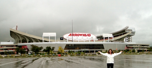 Arrowhead Stadium, home of the Chiefs