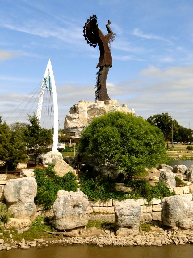 Keeper of the Plains statue, Wichita