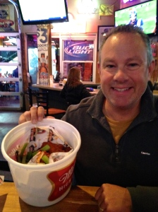 Bucket of Wings at Johnny's Tavern pre-concert