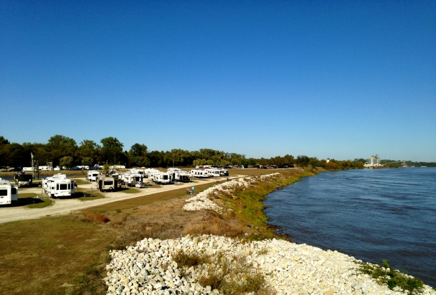 Tom Sawyer's RV Park on the Mississippi River