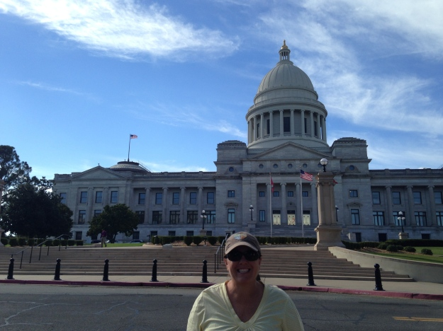 Capitol Building in Little Rock, AR