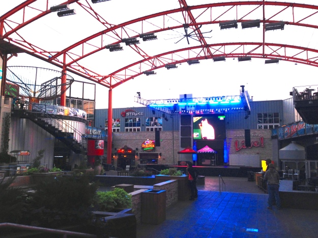 KC Live in downtown, event venue