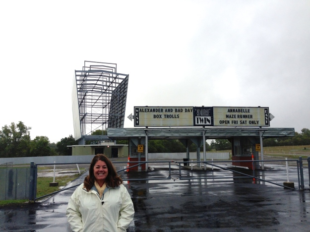 Admiral Twin Drive-In, scenes from the Outsiders filmed here (stay gold Johnny!)