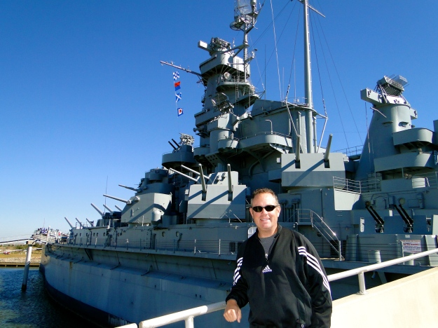 USS Alabama, Mobile