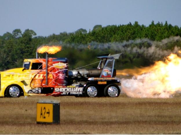 Jet Truck, 200mph!