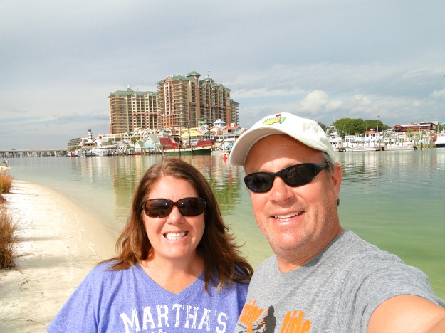 Destin behind us from Norriego Point