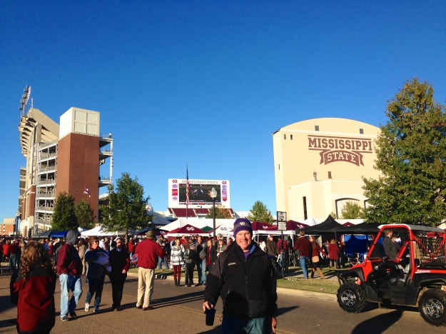 Campus was buzzing before the game
