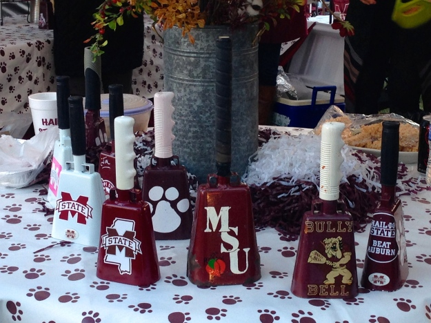 Mississippi State is famous for the cowbells