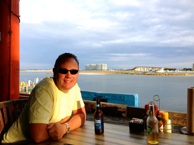 Tacky Jacks Bar, intercoastal bay