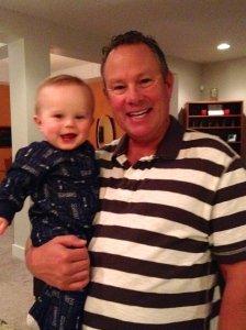 Mike and Baby Hudson