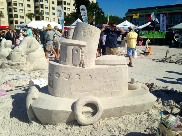 Sandcastle Competition, Ft. Myers Beach