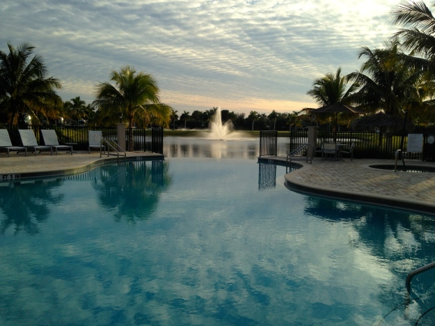 Pool at Naples Motorcoach Resort
