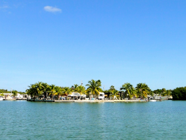 Calusa Campground from the water