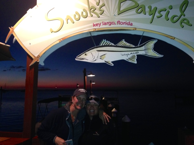 Sunny & Traci at Snook's