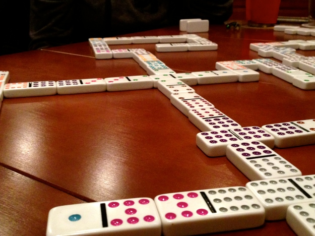 Dominoes!