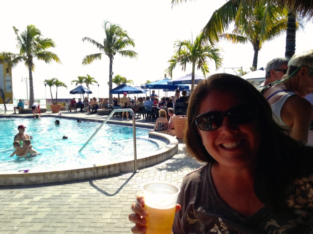 "Sunset Grille ""Sunday Funday""  Gotta love a bar with a pool!"