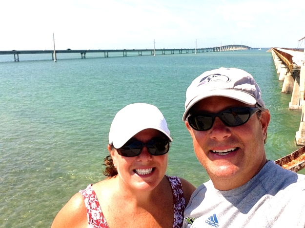 7-mile bridge behind us