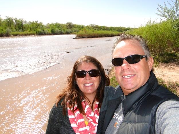 The mighty Rio Grande River