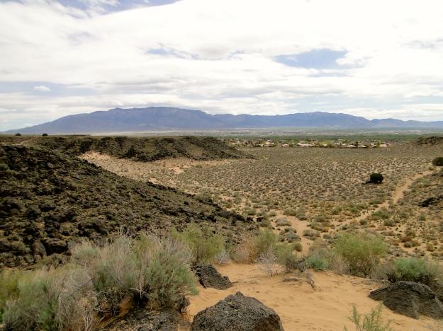 Awesome desert landscape