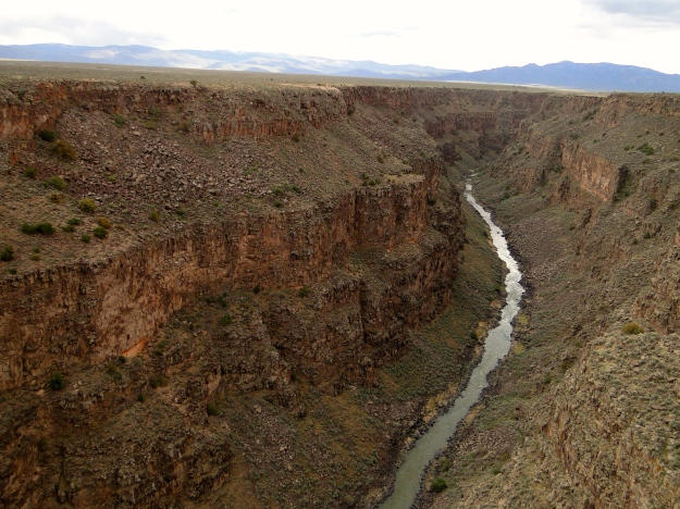 View from the Rio Grande Gorge Bridge