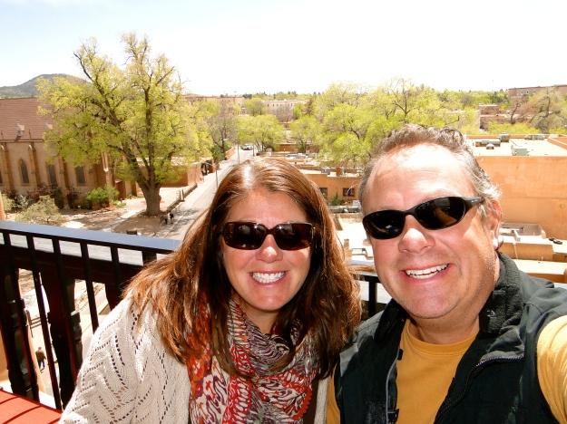Rooftop Bar at La Fonda Hotel