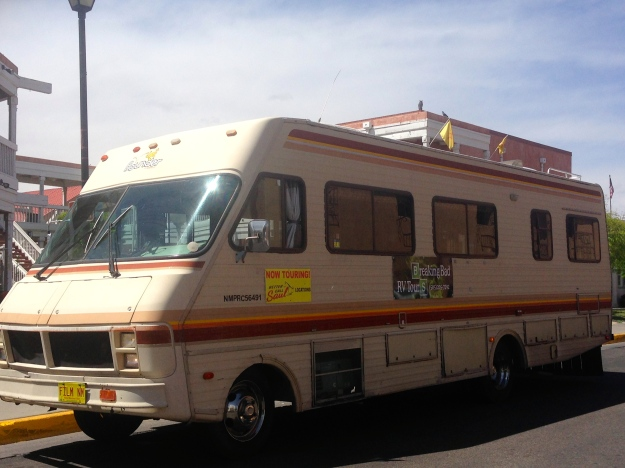 There is a Breaking Bad Tour in this RV that is like the one in the show.
