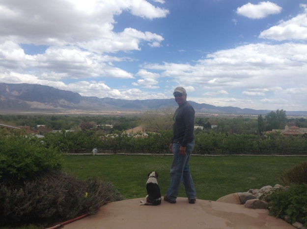 Wine Tasting in Sante Fe and my new Beagle friend, Sparkler