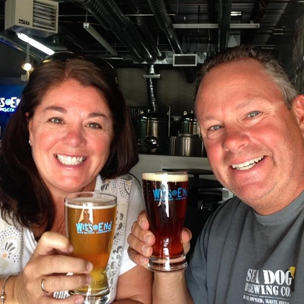 Wit's End Brewery - cheers Joe!