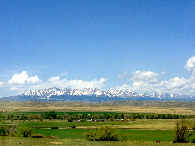 Gorgeous views enroute to Bozeman