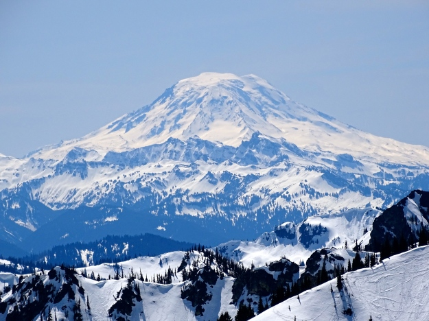 Spectacular Mt. Rainier