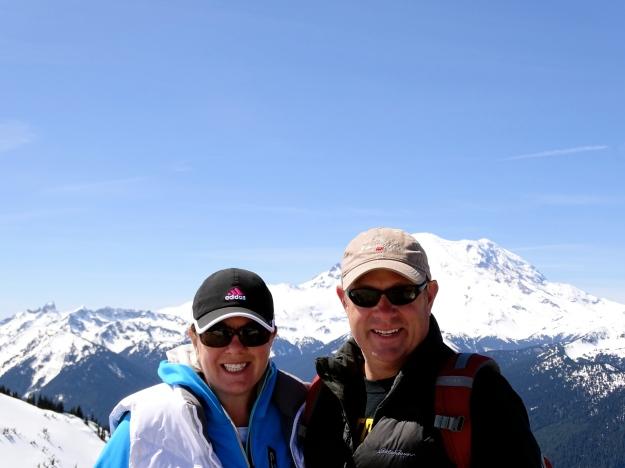 Mt. Rainier in the background